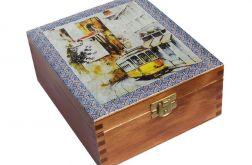 LIZBONA - herbaciarka, pudełko