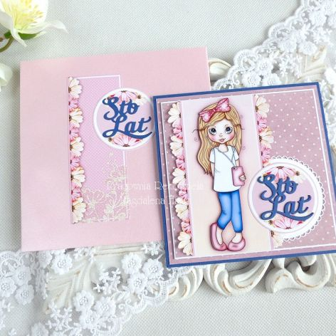 Kartka urodzinowa dla dziewczynki 45