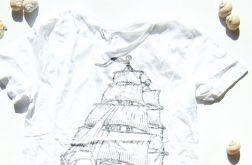 rozmira M koszulka żagle. t-shirt żeglasrki