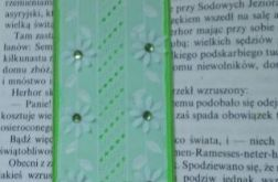Zakładka zielona - Green bookmark