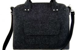 Straight anthracite bag
