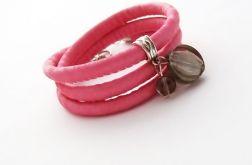 Shiny Glamour różowo-szara1