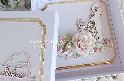 Kartka ślubna w pudełku 309