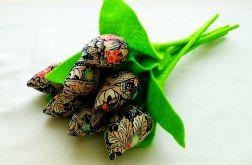 Tulipan 100% bawełna wielokolorowy