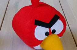 Zdenerwowany ptak