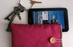 "różowe etui tablet 7', galaxy tab2 7"""