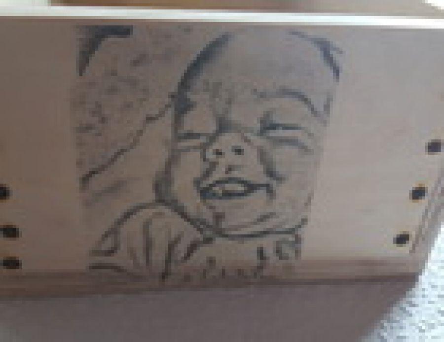 szkatułka na  skarby maluszka