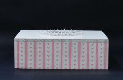 Chustecznik-pudełko na chusteczki Cukierkowy