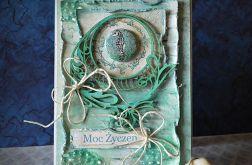 Kartka z konikiem morski