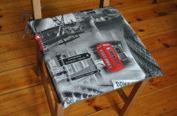 Poduszka na krzesło, siedzisko - Londyn