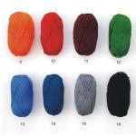 rozkloszowana spódnica z klinów - różne kolory -