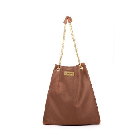 Torba worek Mili Chic MC5 - brown