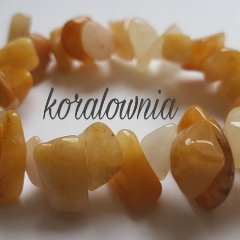Bursztynowy nefryt - kamienie naturalne