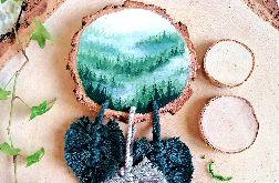 Łapacz snów las świerkowy