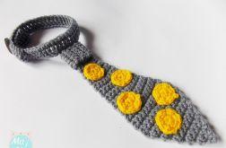 Krawat w żółte kropki / Ma i Bla