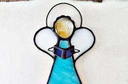Anioł Cherubin błękit