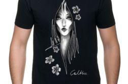 Kwiaty - t-shirt S-5XL (kolory) 2