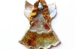 Anioł ceramiczny Mariolka 03