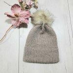 Czapka z podwójnym rondem, dla dziewczynki lub chłopca, na zamówienie - czapka dla dziewczynki
