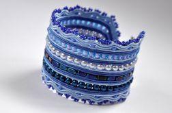 Bransoletka w odcieniach niebieskiego