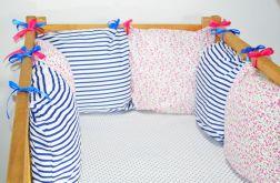 Modułowy ochraniacz do łóżeczka 6 szt N18