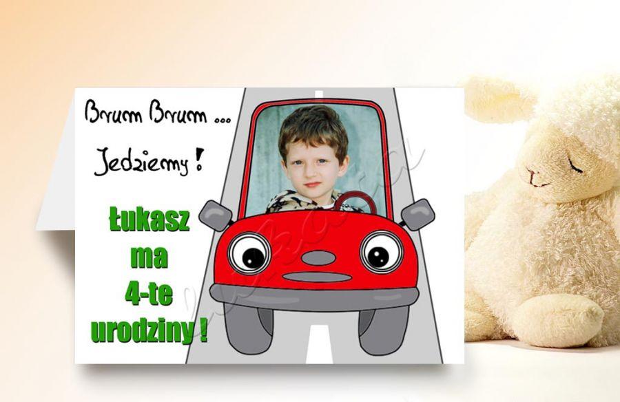 Zaproszenie Na Urodziny Dziecka Ze Zdjęciem Na 23456789 Itd