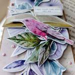 Papierowa zakładka do książki -