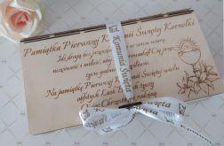 Pierwsza Komunia Święta-pudełko na pieniądze
