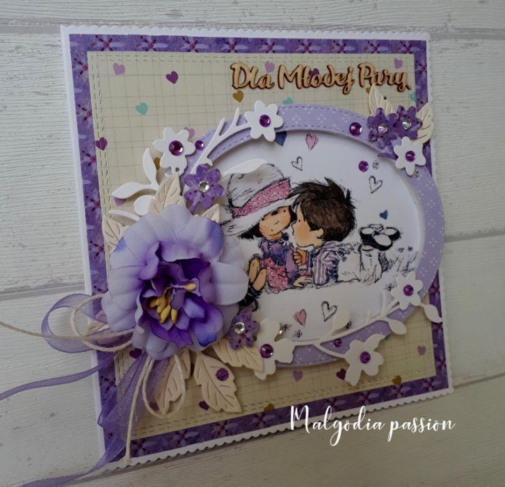 Ślubna kartka na wesoło :) :) :)