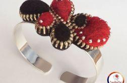 Bransoletka z zamka Zipper bracelet