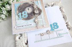 Kartka na 18 urodziny w kopercie 172