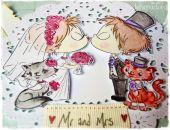 Całuśni Nowożeńcy