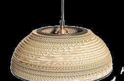 Lampa wisząca Tenlame z tektury falistej
