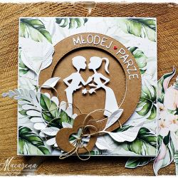 Ślub eko - kartka ślubna