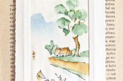 Zakładka malowana na jedwabiu - nr  8