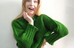 trawiasty sweter