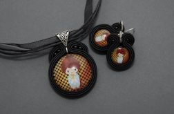 komplet biżuterii sutasz - japonka