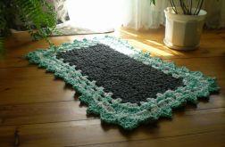 Dywan prostokątny ze sznura bawełnianego