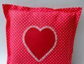 Poduszka Walentynkowa z serduszkiem