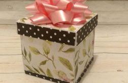 Pudełko z niespodzianką z okazji ślubu