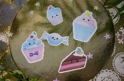 Naklejki Babeczki Muffinki
