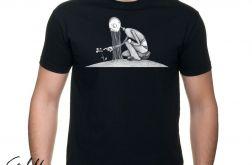 Kwiat - t-shirt męski