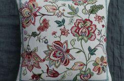Poduszka gobelinowa Kwiaty