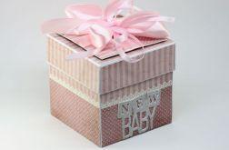 Explodujące pudełko na narodziny dziecka
