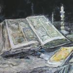 Martwa Natura z Otwartą Biblią