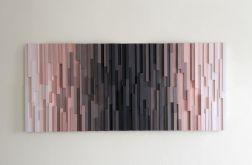 "Obraz 3D Mozaika drewniana ""Vultures 2"""