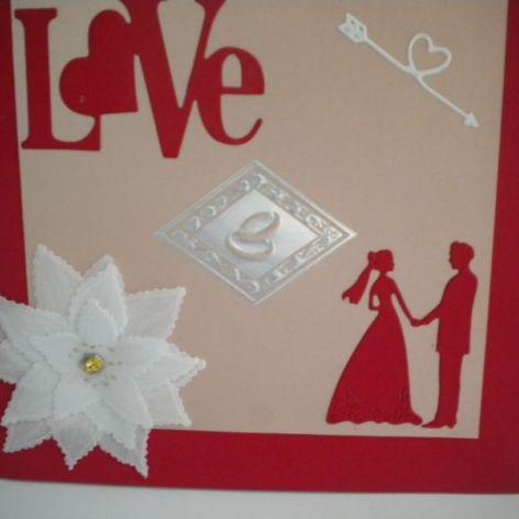 Z miłością - kartka