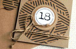 18-te urodziny : KARTKA URODZINOWA : eco
