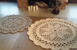 Komplet 2 dywanów