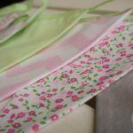 Girlanda Baby seledynowo-różowa